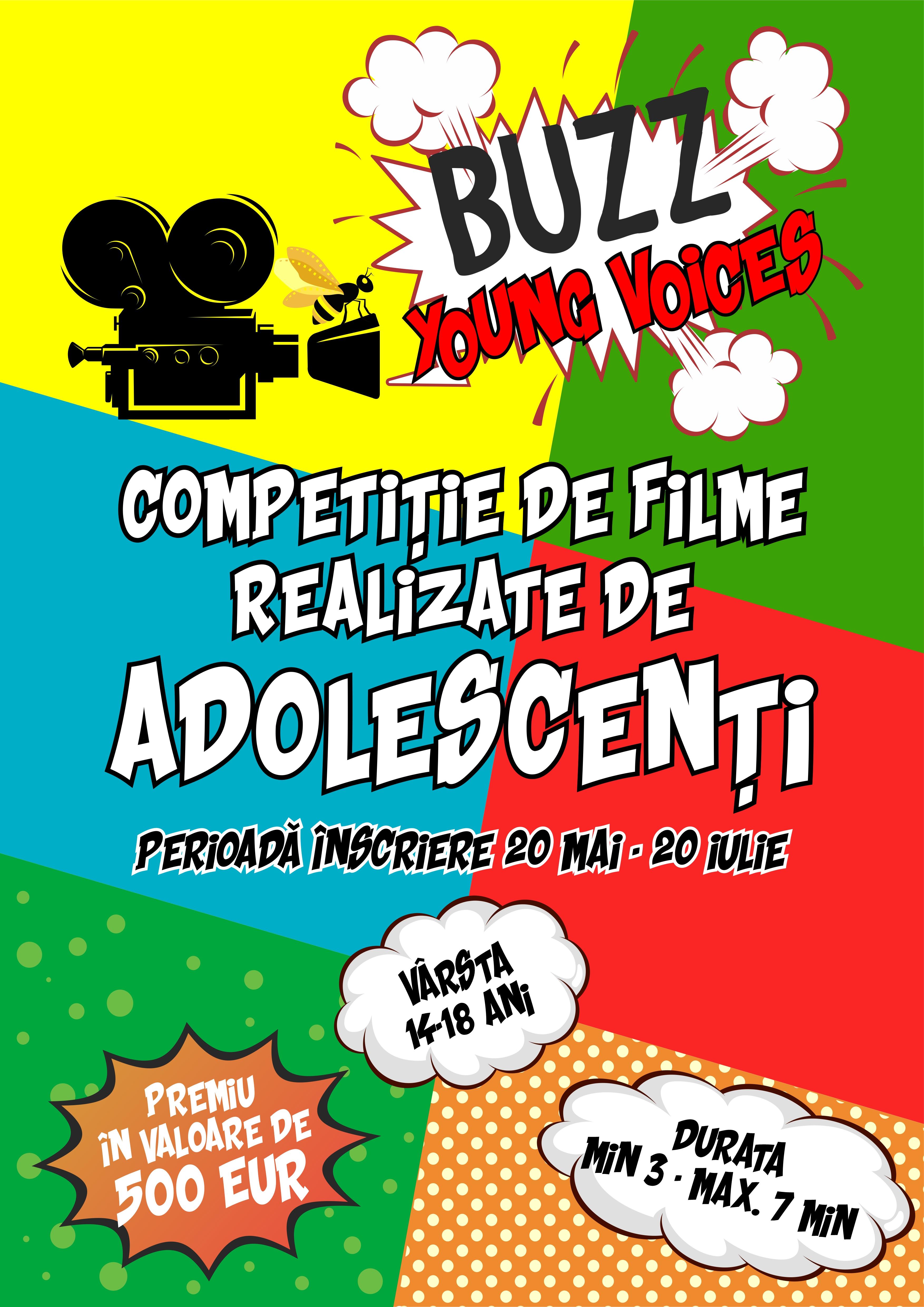BUZZ Young Voices – Competiție de Filme pentru Adolescenți